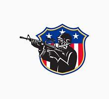 soldier swat policeman rifle shield Unisex T-Shirt
