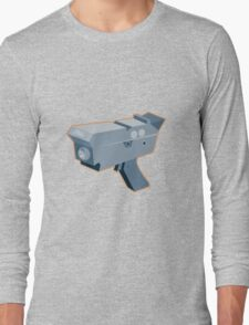 mobile speed camera radar gun retro Long Sleeve T-Shirt