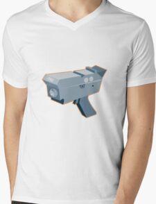 mobile speed camera radar gun retro Mens V-Neck T-Shirt
