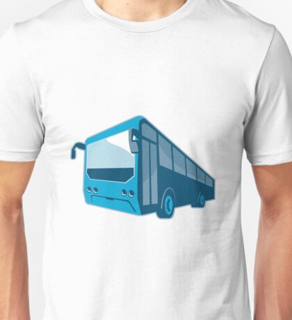 tourist shuttle bus coach retro Unisex T-Shirt