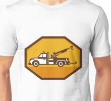 vintage tow wrecker truck side view retro Unisex T-Shirt
