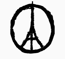 EIFFEL TOWER PEACE SIGN PRAY FOR PARIS T-Shirt