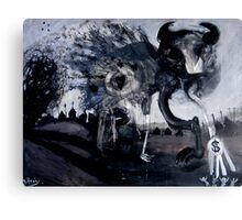 australian gambling demon Canvas Print