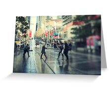 Bourke St Greeting Card