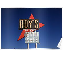Route 66 - Roy's of Amboy, California Poster