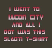 Iacon City T-Shirt by gerrorism