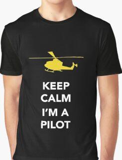 Keep calm, I'm a pilot Graphic T-Shirt