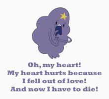 Lumpy Space Princess - Oh, my heart! by SuperWhoLocker1