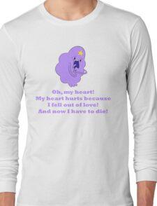 Lumpy Space Princess - Oh, my heart! Long Sleeve T-Shirt