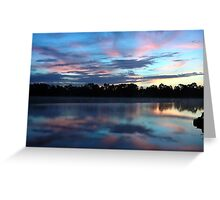 Sunrise without you makes me blue! Greeting Card