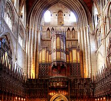 The Choir, Ripon Cathedral by Christine Smith