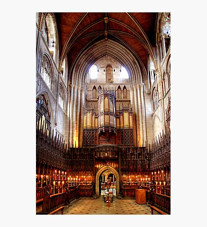 The Choir, Ripon Cathedral Photographic Print