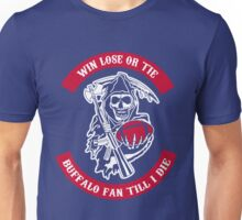 Win Lose Or Tie Buffalo Bills Fan Till I Die. Unisex T-Shirt
