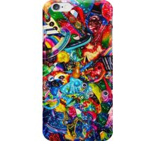 3D Acid Wash Paint 8.  iPhone Case/Skin