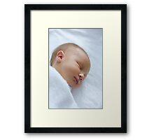 Welcome to the World Framed Print