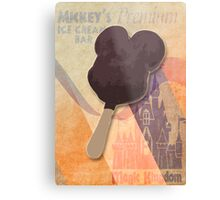 Mickey's Premium Ice Cream  Bar Metal Print