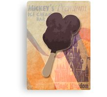 Mickey's Premium Ice Cream  Bar Canvas Print