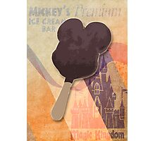 Mickey's Premium Ice Cream  Bar Photographic Print