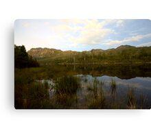 Lake Rosebery 3 Canvas Print