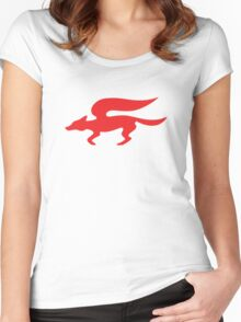 Star Fox Team Retro Logo Women's Fitted Scoop T-Shirt