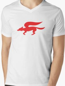 Star Fox Team Retro Logo Mens V-Neck T-Shirt