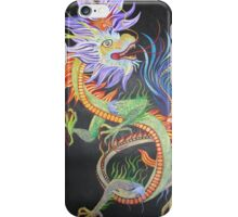 Bright and Vivid Chinese Fire Dragon iPhone Case/Skin