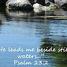 &quot;Psalm 23:2&quot;  by Carter L. Shepard by echoesofheaven