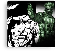 MGS Dedication Canvas Print