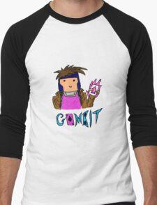Chibi-ish Style Gambit Men's Baseball ¾ T-Shirt