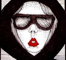 Lipstick 10 by Lenora Brown