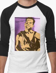 Yippe-Kah-Yea Men's Baseball ¾ T-Shirt