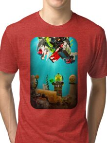 Lost Treasure of Atlantis Tri-blend T-Shirt