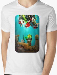 Lost Treasure of Atlantis Mens V-Neck T-Shirt