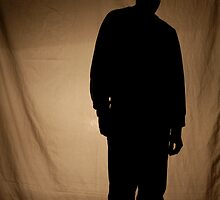 Silhouette of Man by YlemPhotography