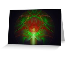 Pearl Reflections Greeting Card