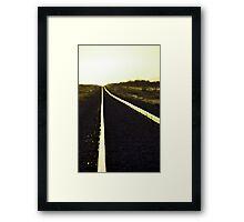 Going west Framed Print