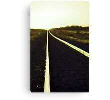 Going west Canvas Print