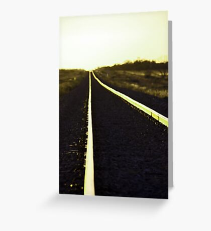 Going west Greeting Card