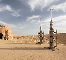 Missiles in the desert by mrivserg