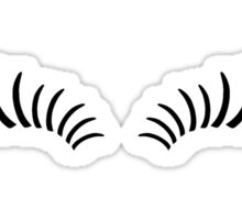Eye Lashes Sticker