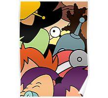 Futurama - 31st Century Family Poster