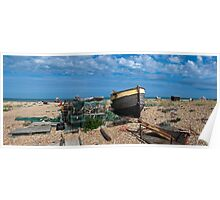 Dungeness Panorama Poster
