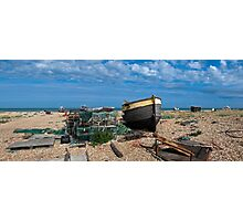 Dungeness Panorama Photographic Print