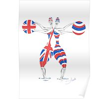 Team GB Going for Gold Poster