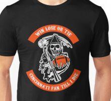 Win Lose Or Tie Cincinnati Fan Till I Die. Unisex T-Shirt
