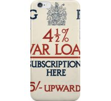 4 1 2 ar loan subscriptions here 386 iPhone Case/Skin