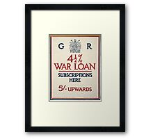 4 1 2 ar loan subscriptions here 386 Framed Print