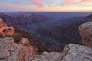 Bright Angel Sunset by William C. Gladish