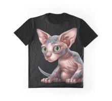 Cat-a-clysm: Sphynx kitten - Classic Graphic T-Shirt