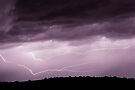 Lightning Across the Sky by William C. Gladish, World Design